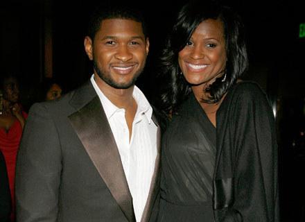 Usher i Tameka Foster - fot. Frank Micelotta /Getty Images/Flash Press Media