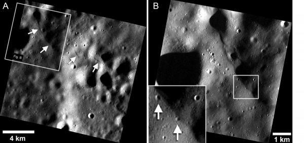Uskoki na Merkurym /NASA