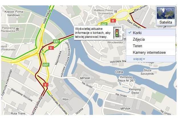 Usługa Google Traffic /vbeta
