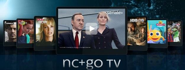 Usługa nc+go TV jest dostępna dla wybranych modeli dekoderów: mediaBOX+, turboBOX+, BOX+ (ITI 2851S), Sagemcom DSI83, Sagemcom DSI87, wifi Premiumbox+, wifBOX+. /materiały prasowe