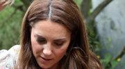 Uśmiechnięta od ucha do ucha księżna Kate. Tak dementuje plotki?