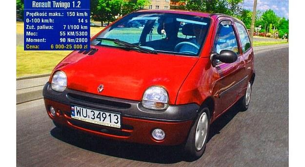 """""""Uśmiechnięty"""" przód Renault Twingo wzbudza pozytywne odczucia. Samochód nadal się podoba wielu kierowcom. /Motor"""