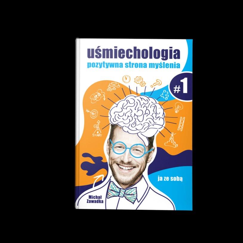 """""""Uśmiechologia"""" - to połączenie książki i zeszytu ćwiczeń /materiały prasowe"""
