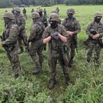 Usnarz Górny. Straż Graniczna: Po stronie białoruskiej są 24 osoby