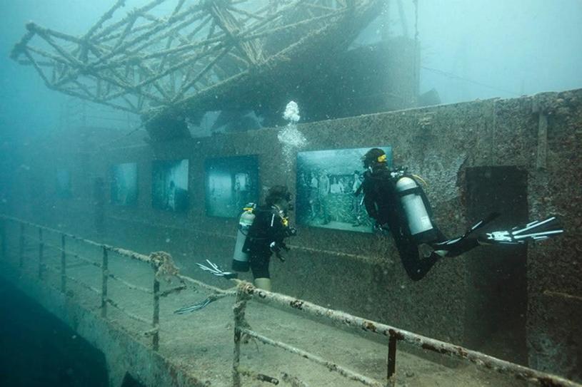 USNS General Hoyt S. Vandenberg po zatopieniu - dzisiaj można go określić mianem atrakcji turystycznej /materiały prasowe