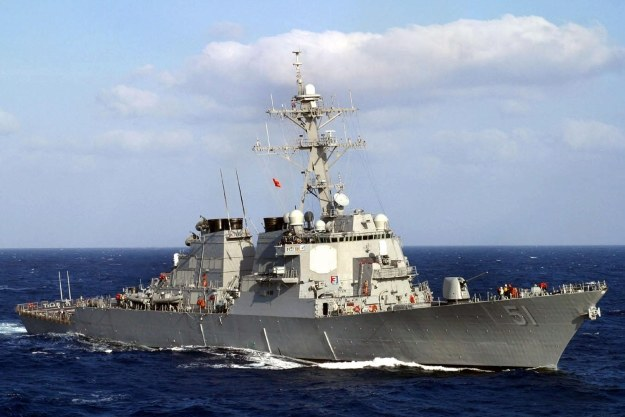 USS Arleigh Burke (DDG 51) na Morzu Śródziemnym /AFP