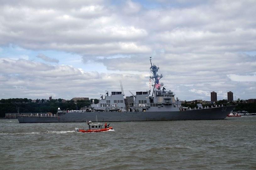 USS Barry; Zdj. ilustracyjne /JEWEL SAMAD/JS/ljm /AFP