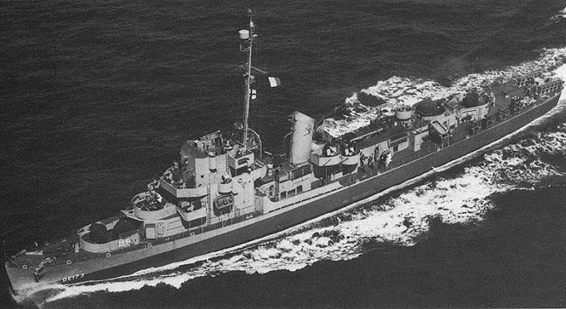 USS Eldridge DE-173   Fot. National Archives and Records Administration /Wikipedia