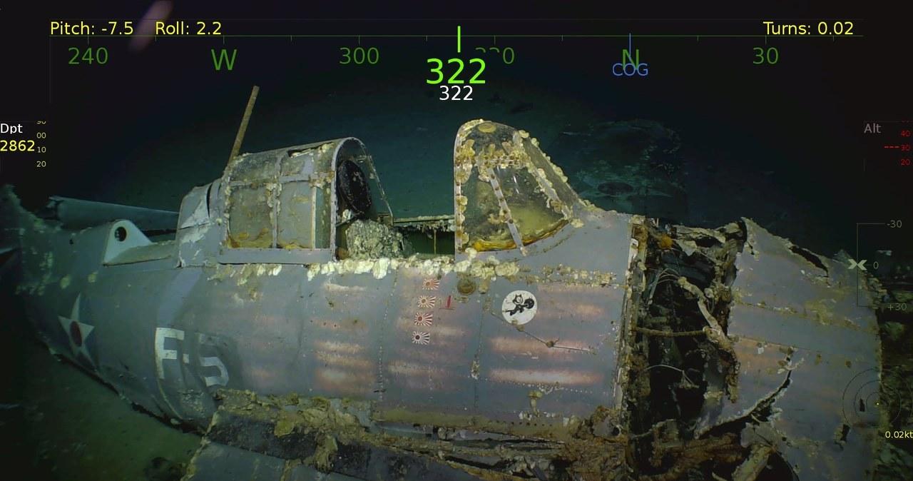 USS Lexington odnaleziony na dnie Morza Koralowego. Zobaczcie podwodne zdjęcia lotniskowca!