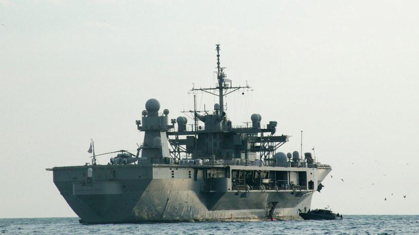 USS Mount Whitney /AFP