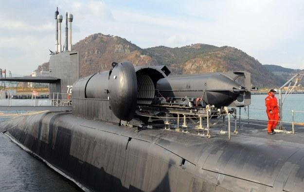USS Ohio /AFP