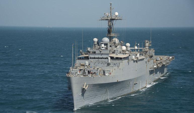 """USS """"Ponce"""".  Fot. Daniel M. Young/US Navy /materiały prasowe"""