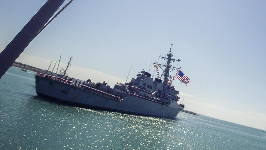 USS Porter /VICTOR LOPEZ /PAP/EPA
