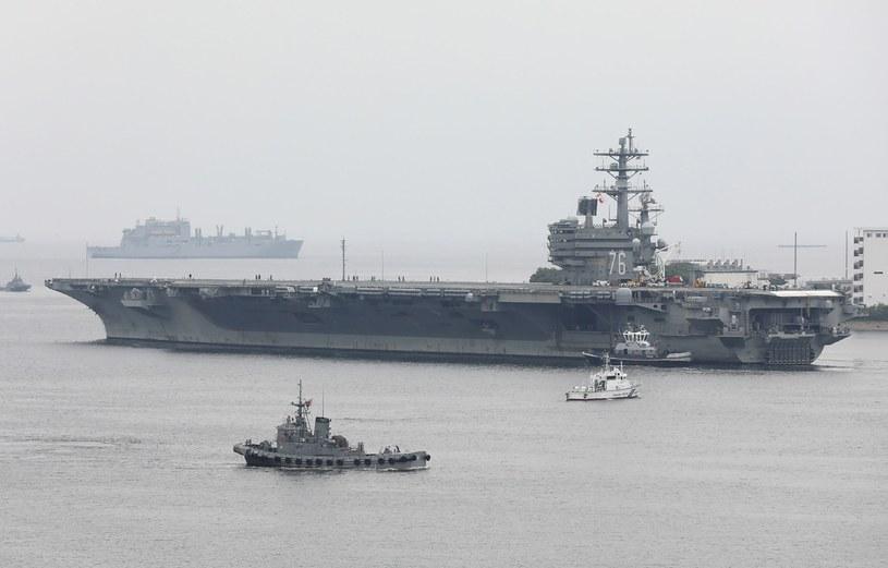 USS Ronald Reagan /AFP