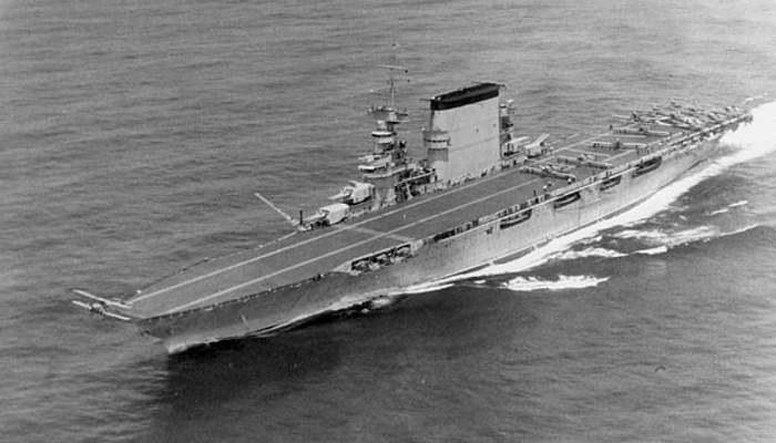 """USS """"Saratoga"""" na początku lat 30. /US NAVY /INTERIA.PL/materiały prasowe"""