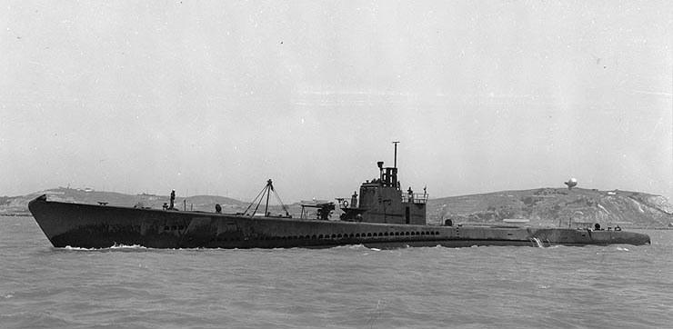 """USS """"Strugeon"""" /domena publiczna"""