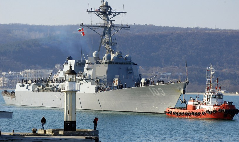 USS Truxtun /AFP