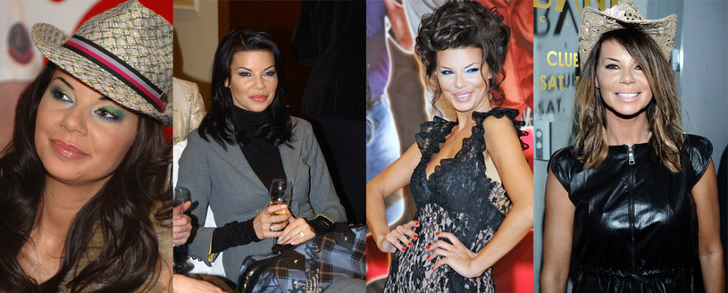 Usta Edyty (od lewej) w 2006, 2007, 2009 i 2011 roku  /Andras Szilagyi /MWMedia