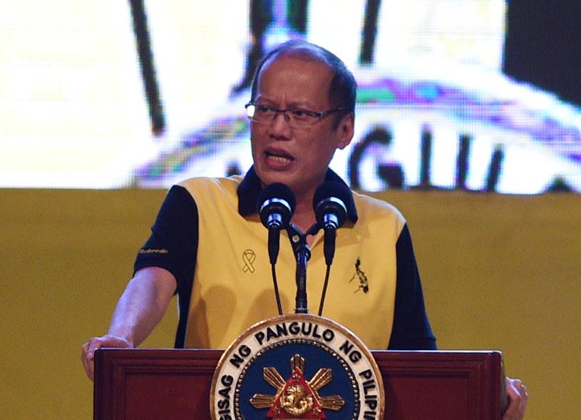 Ustępujący prezydent Filipn Benigno Aquino /AFP