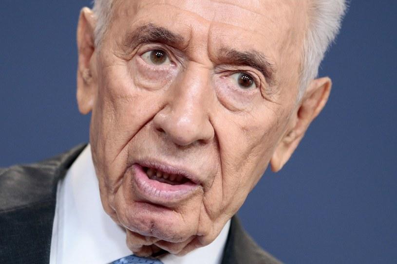 Ustępujący prezydent Izraela Szimon Peres. /AFP