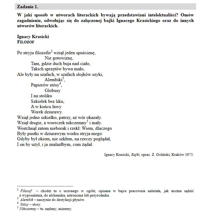 matura 2021 polski ustny