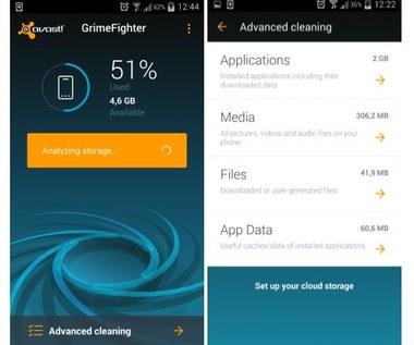 Usuń niechciane dane z Androida