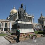 Usunięto pomnik z byłym kustoszem sanktuarium w Licheniu