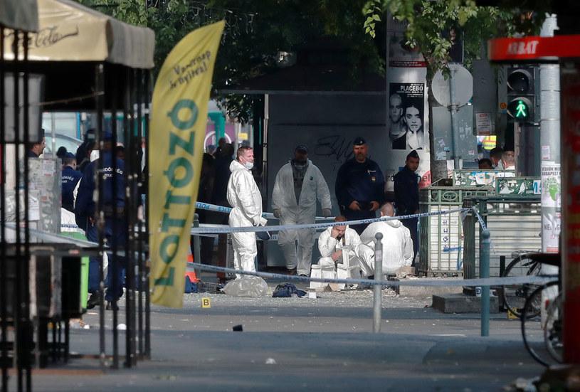 Uszkodzenia wskazują na materiał wybuchowy /AFP