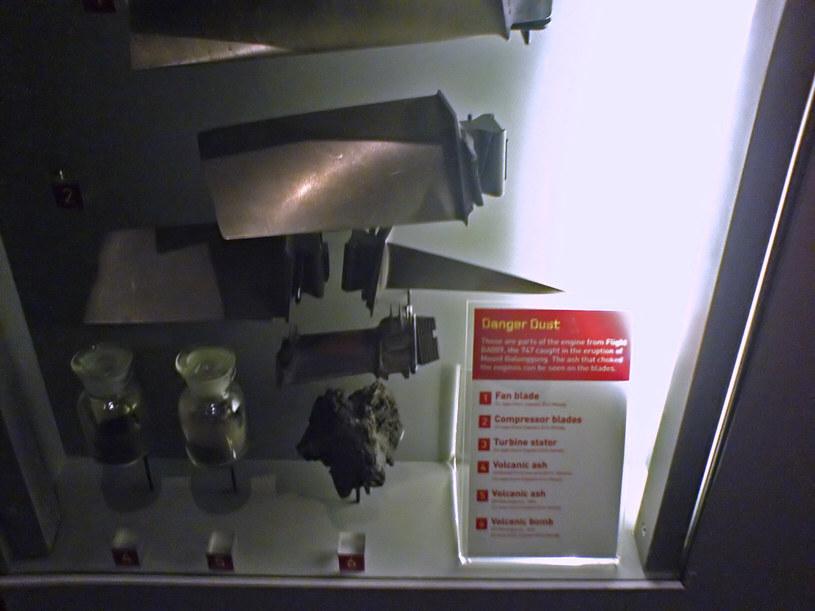 Uszkodzone części silników trafiły do Muzeum w Auckland /Wikimedia Commons /domena publiczna