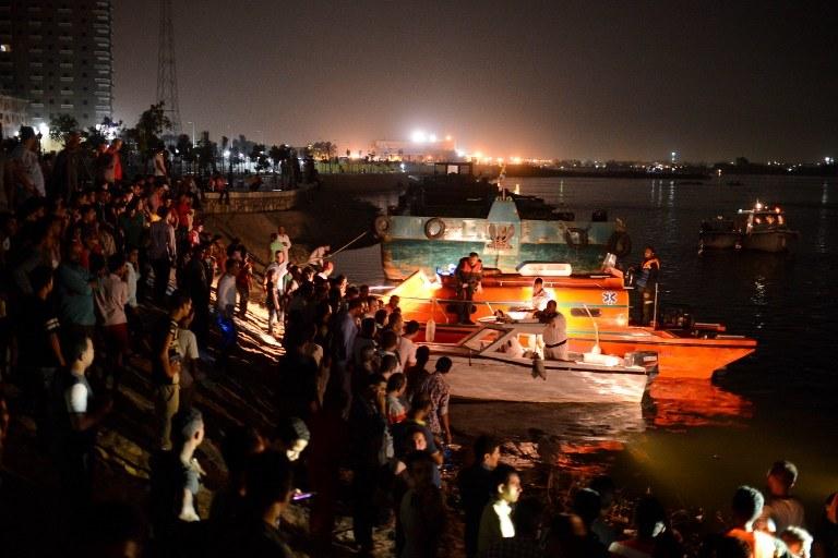 Utonęło co najmniej 21 osób /AFP