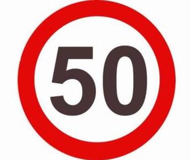Utrzymajmy limity prędkości 50 km/h