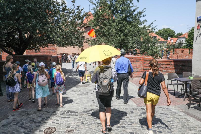 Uwaga, będzie gorąco /na zdjęciu Warszawa /Piotr Molecki /East News