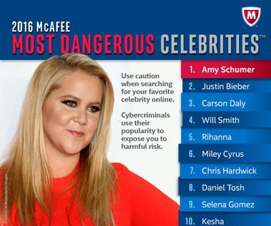 Uwaga na Amy Schumer! To najniebezpieczniejsza celebrytka w internecie