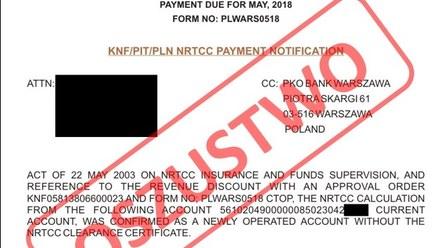 Uwaga przedsiębiorcy! Oszuści podszywają się pod KNF i PKO BP