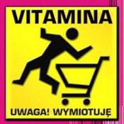 Vitamina: -Uwaga! Wymiotuję