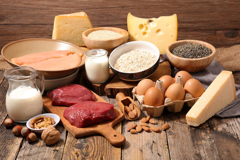 Uważaj na nadmiar białka /©123RF/PICSEL