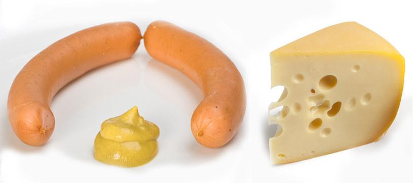Uważaj na parówki i sery żółte - zawierają ukryty tłuszcz  /© Panthermedia