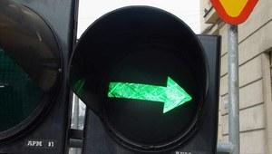 Uważaj na zieloną strzałkę