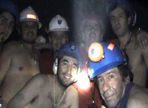 Uwięzieni górnicy, 17 września 2010 /Getty Images/Flash Press Media