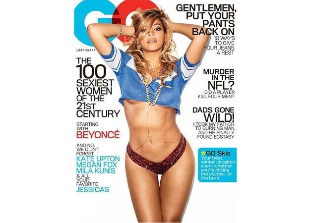 """Uwodzicielska Beyonce na okładce """"GQ"""" /"""