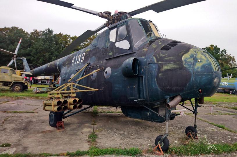 Uzbrojone Mi-4 w barwach lotnictwa Czechosłowacji w Muzeum Lotnictwa Vyskov w Czechach /Łukasz Pieniążek /Muzeum Ratownictwa w Krakowie
