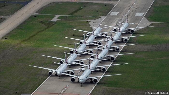 Uziemiona flota American Airlines /Reuters/N. Oxford /123RF/PICSEL