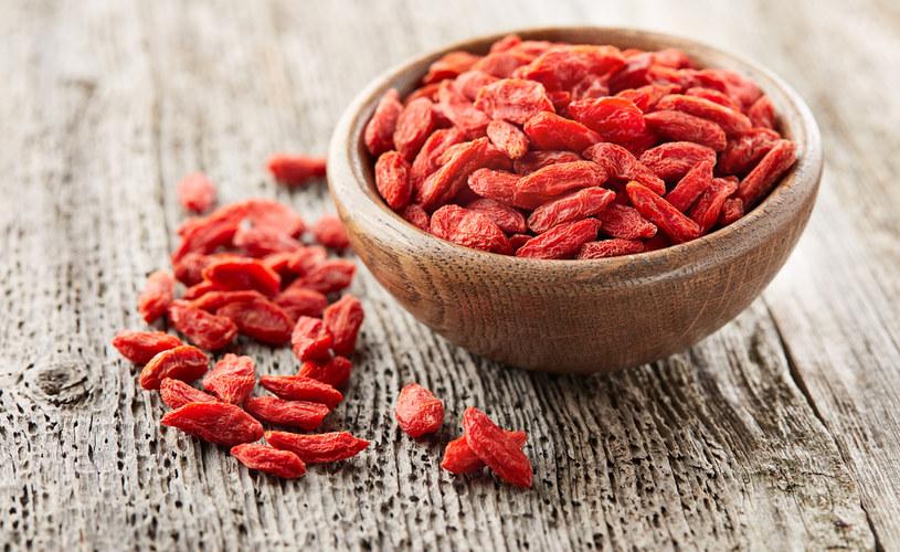 Uznaje się, że jagody goji mają działanie antynowotworowe /123RF/PICSEL