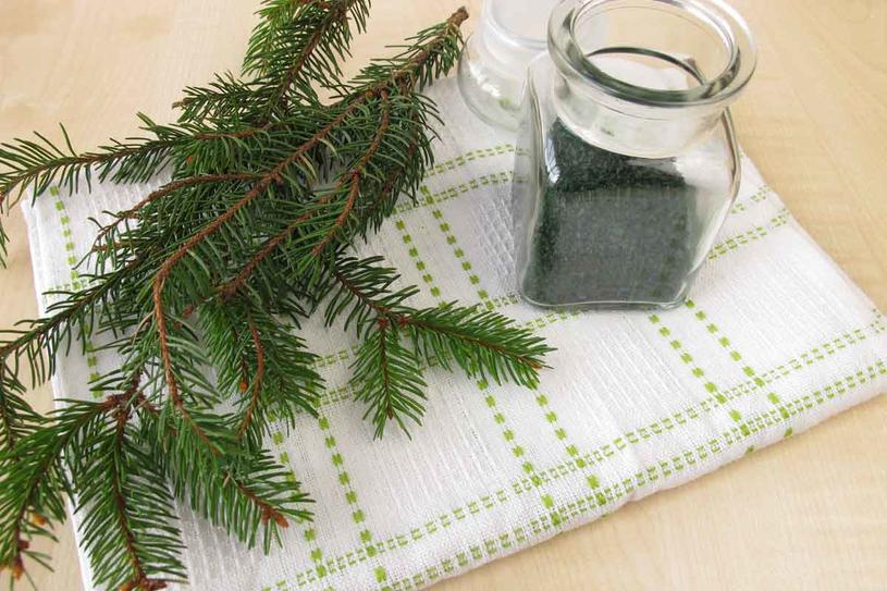 Użyj świeżych gałązek lub gotowych produktów, zawierających olejki /123RF/PICSEL