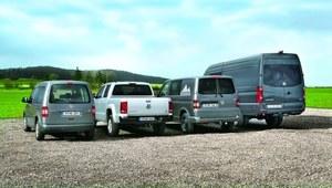 Użytkowe Volkswageny z napędem 4MOTION