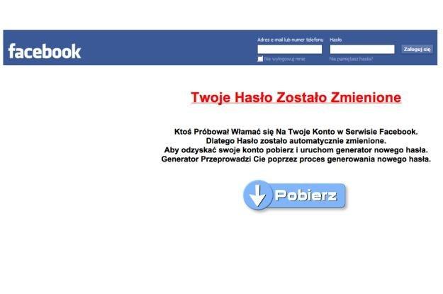 Użytkownicy Facebooka są częstym celem cyberataków /materiały prasowe