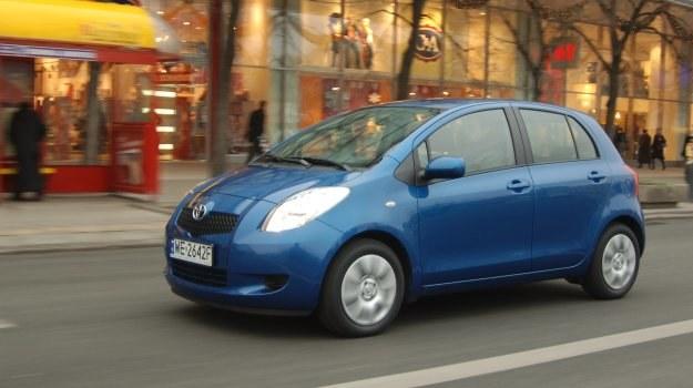 Używana Toyota Yaris II (2005-2010) /Motor