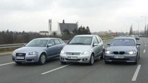 Używane: Audi A3, BMW serii 1, Mercedes klasy A