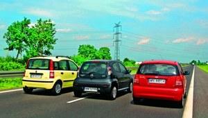 Używane: Citroen C1, Fiat Panda, Kia Picanto