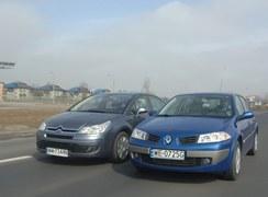 Używane: Citroen C4, Renault Megane